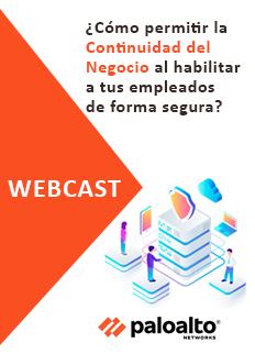 Webcast como permitir la continuidad del negocio al habilitar a tus empleados de forma segura