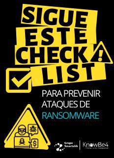 Sigue este checklist para prevenir Ransomware